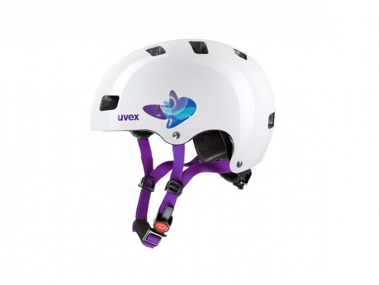 Uvex Kid 3 Butterfly Blue 51-55cm 2015  - Uvex Kid 3 Butterfly Blue 51-55cm 2015