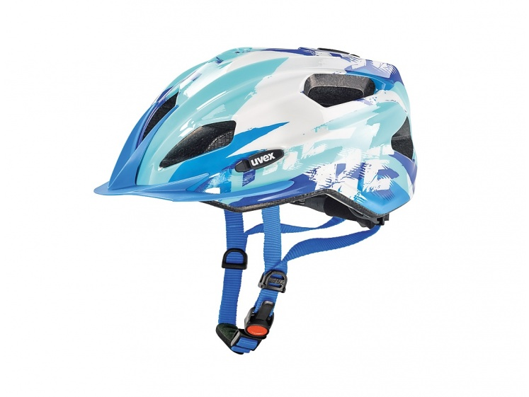 Uvex Quatro Junior Blue-White 50-55cm 2016  - Uvex Quatro Junior Blue-White 50-55cm 2016