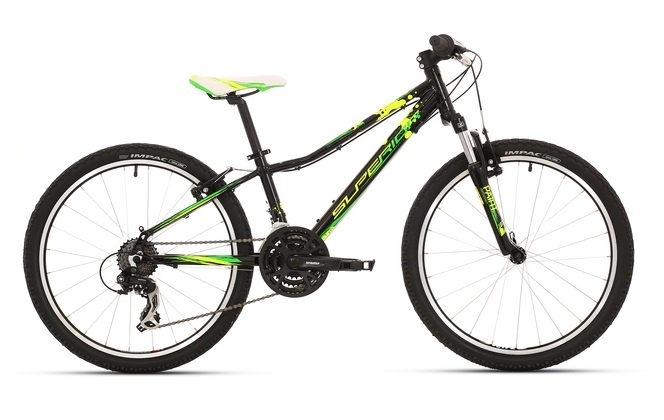 "Superior XC 24"" Paint gloss black-neon green-lime green 2017  - Superior XC 24"