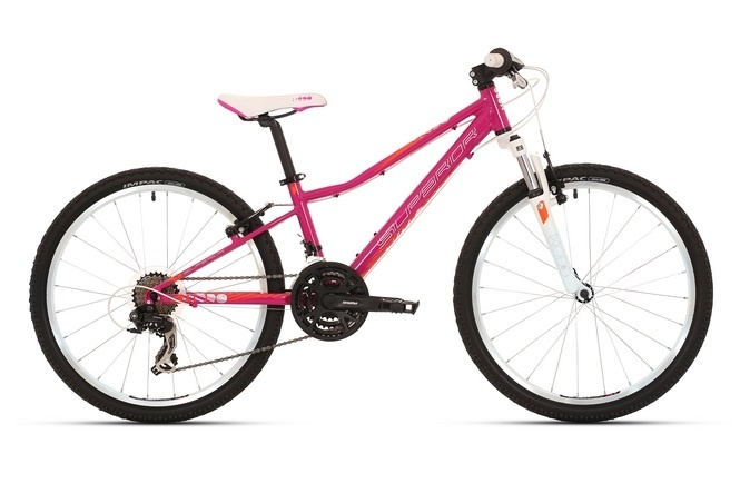 "Superior Modo 24"" gloss magenta-orange-white 2017  - Superior Modo XC 24"