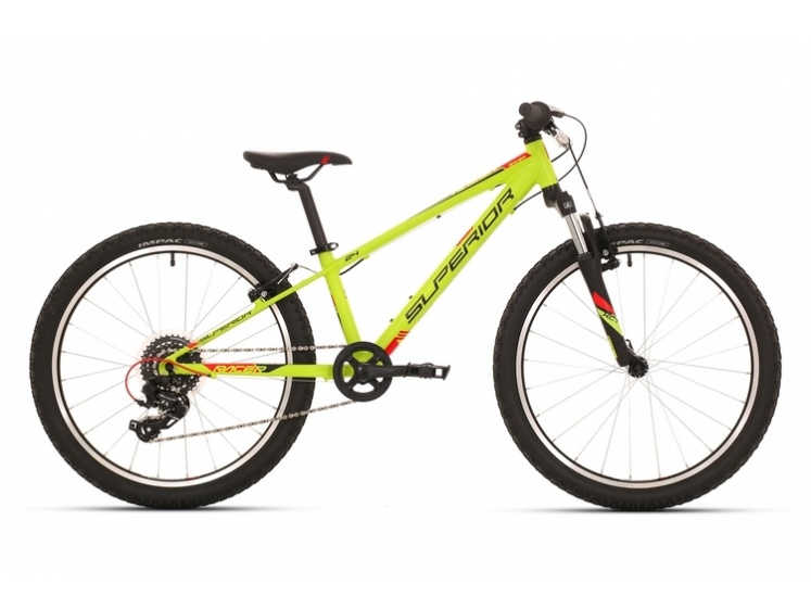 "Superior Racer 24"" matte radioactive yellow/black/red 2018  - Superior Racer 24"