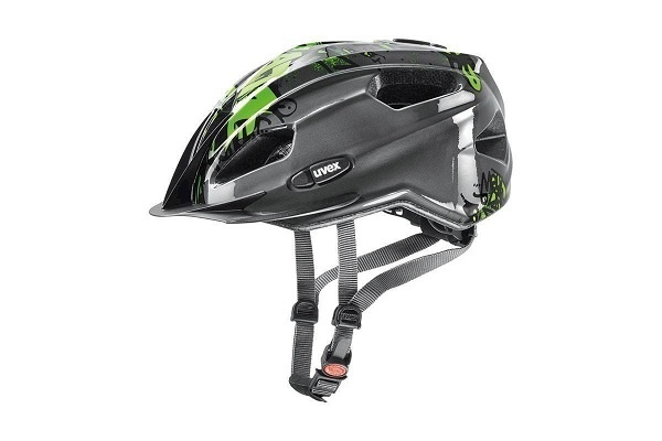 Uvex Quatro Junior Anthracite-Green 50-55cm 2019  - Uvex Quatro Junior Anthracite-Green 50-55cm 2019
