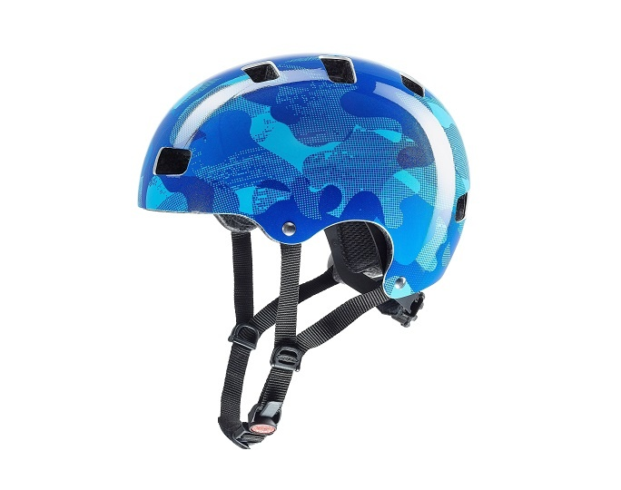 Uvex Kid 3 Blue Camo 55-58cm   - Uvex Kid 3 Blue Camo